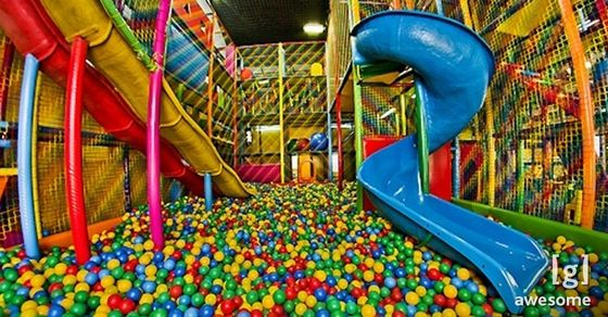 We Wanted To Party All The Time At These 90s Kids Birthday Places Ball Pit Kids Birthday Places Birthday Party Places