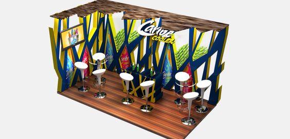 Caribe cooler 6x3 mts