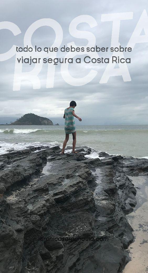 Mi experiencia viajando sola a costa rica. Todo sbre la seguridad en este país de centroamérica.