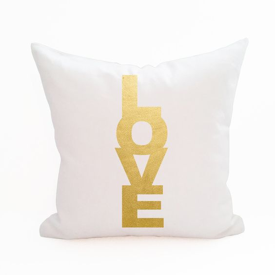 Love Tower Pillow Cover: