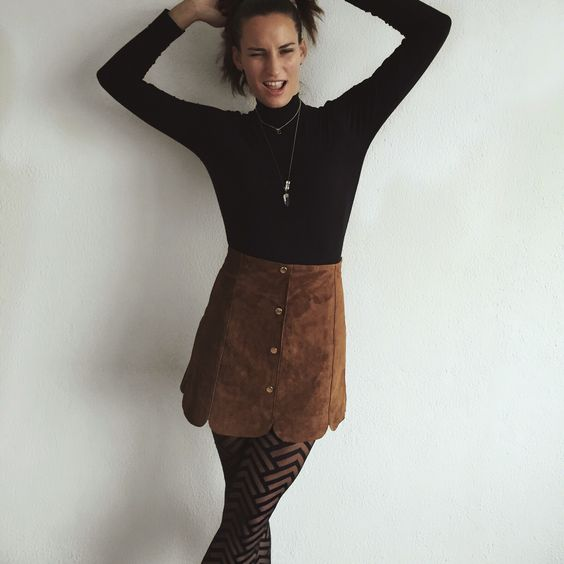 Rock that Graphic Tights! Pssst turtlenecks are hot @ run.cyn