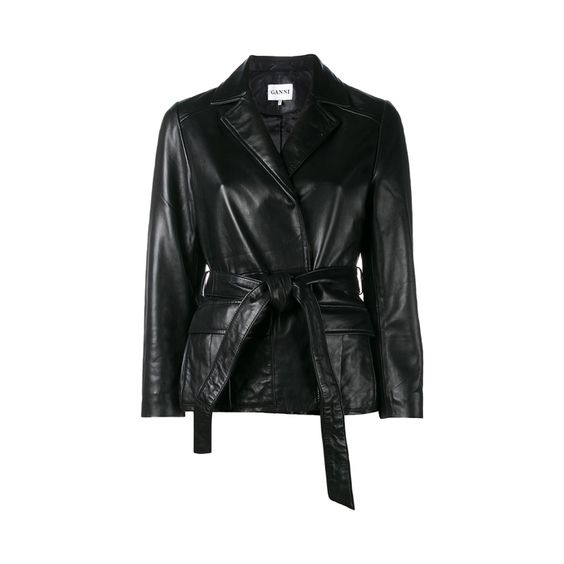 Ganni -  Best Leather Jackets
