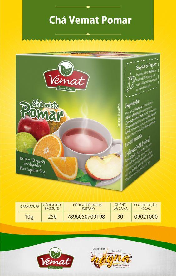 Chá Vemat Pomar 10gr