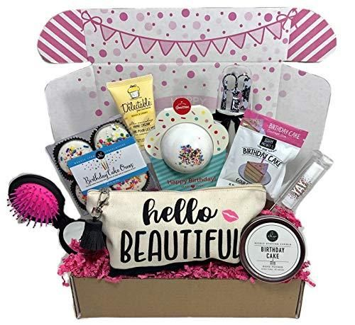 Women S Birthday Gift Box Set 9 Unique Surprise Gifts For Wife Aunt Mom Girlfriend Sister Surprise Birthday Gifts 21st Birthday Gifts Friend Birthday Gifts