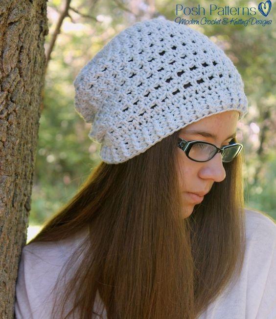 Crochet Pattern Crochet Eyelet Lace Hat And Bow Pattern Lace
