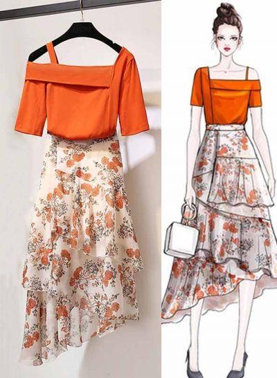 Desain Dress Terbaru