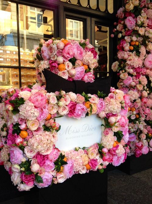 Best 25+ Dior flower wall ideas on Pinterest | Yardley love, Dior ...