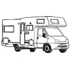 14 Artistique Coloriage Camping Car Image Camping Car Cars Dessin Camping