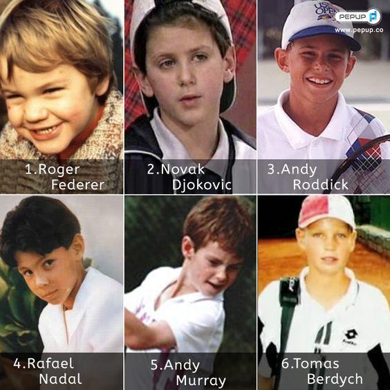Roger, Djokovic, Andy Roddick, Rafa, Andy Murray & Berdych