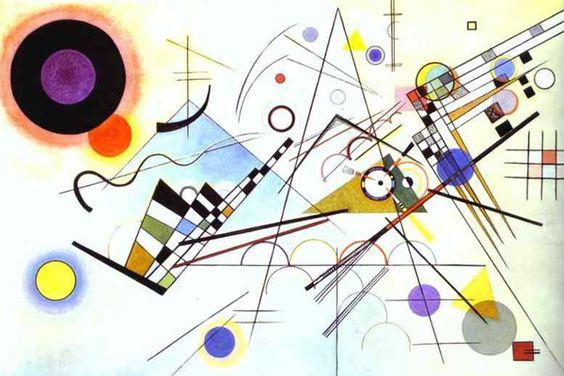 Composición VIII de Vasili Kandinski