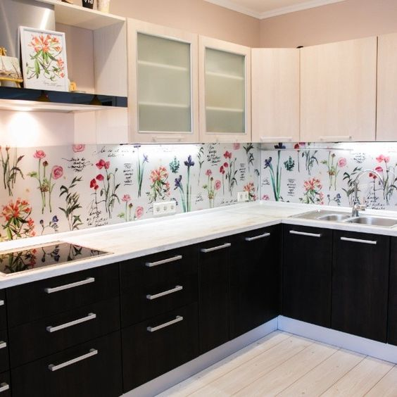 25 Wallpaper Kitchen Backsplashes With Pros And Cons Kitchen