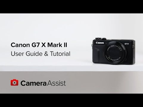 Whether You Want Full Creative Control Or Just Let The Canon G7x Mark Ii Do It S Own Thing In The P Shooting Mode Canon Powershot Powershot Canon G7x Mark Ii