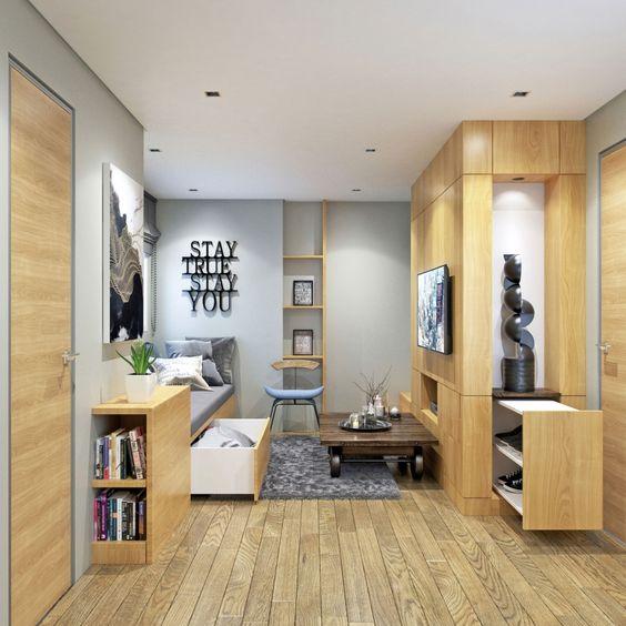 Small Condo Unit Interior Design - Галерея 3ddd.ru