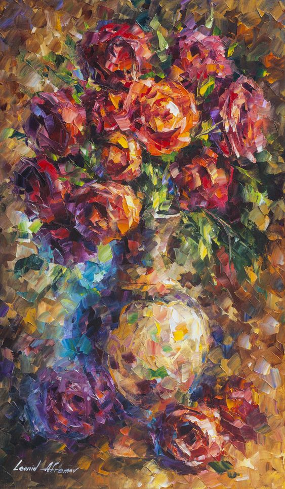 Hello! My new original oil painting - ROMANTIC ROSES. Only today $149 include shipping https://afremov.com/ROMANTIC-ROSES-Original-Oil-Painting-On-Canvas-By-Leonid-Afremov-15-X25-37cm-x-64cm.html?bid=1&partner=20921&utm_medium=/offer&utm_campaign=v-ADD-YOUR&utm_source=s-offer