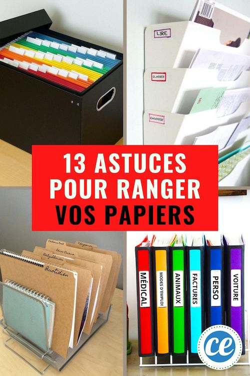 13 Super Idees Pour Ranger Vos Papiers Importants Et Les Retrouver Facilement En 2020 Rangement Papier Administratif Rangement Classeurs Rangement Papier Bureau