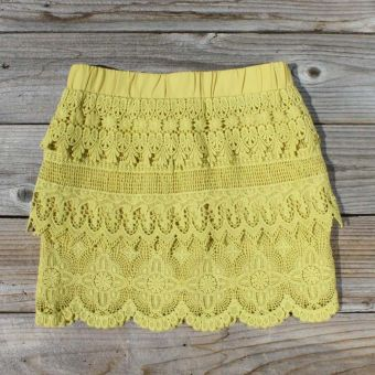 Laced Canyon Skirt... just bought this in cream! a little expensive but i love it!