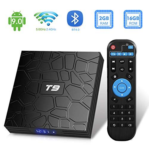 Android Tv Box T9 Android 9 0 Tv Box 2gb Ram 16gb Rom Rk3318 Quad Core Support 2 4 5 0ghz Wifi Bt4 0 26 99 Anzich Android Tv Box Android Tv Android Box