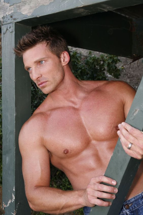 Steve Burton.  General Hospital my TV husband!!! / Yes ... & now he is on Y & R ... oh what a hunk!  (: