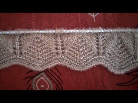Latest Border Design Border Design For Ladies And Girls Ladies Border Design Youtube Knitting Knitting Patterns Knitting Designs