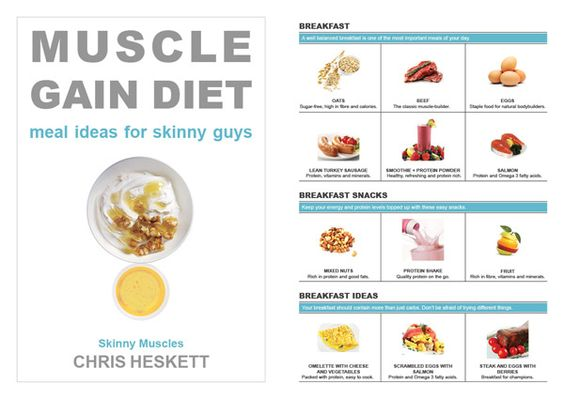 Muscle gain diet for skinny guys