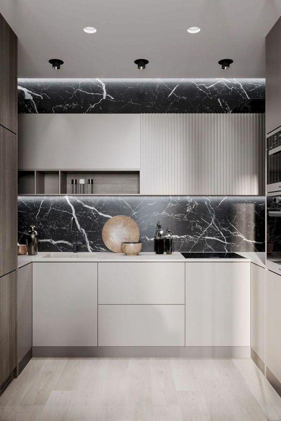 Figure Salon Decor Eating Move Repost Designdeinteriores Music Life Mini Like4lik Modern Minimalist Kitchen Design