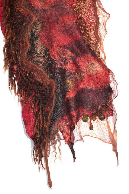 Nuno Felted Scarf Wrap | Flickr - Photo Sharing!