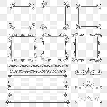 زخرفة إطار العنوان رهيبة فخم ترف اسلامية الإطارات Png وملف Psd للتحميل مجانا In 2021 Divider Design Ornament Frame Free Vector Ornaments
