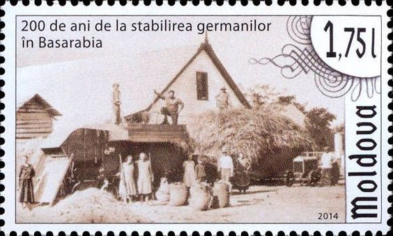 Bessarabia Germans - 200th Anniversary of Their Establishment: Farmhouse of a Bessarabia German Family
