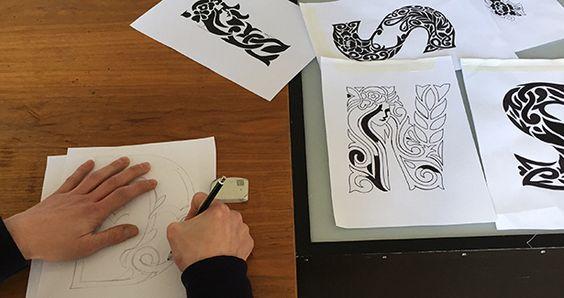 #absolut #absolutvodka #typography #lettering #handmade #craftsmen #drawing #midsummer #midsummernight #nachtlabagency #sketching