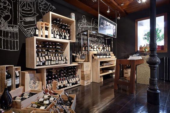 wine shop: Design Food, Food Store Interior, Wine Shop Interior, Design Lab, Design Retail, Behance Interiordesign, Restaurant Interior Design