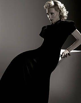 Cate Blanchett by Michel Comte