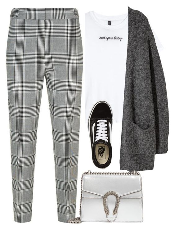 """#124"" by mintgreenb on Polyvore featuring Alexander Wang, Vans and Gucci"
