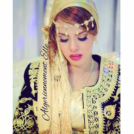 magnifique mari e algeroise elle est sublime dz algerie bladi wedding algelles karakou. Black Bedroom Furniture Sets. Home Design Ideas