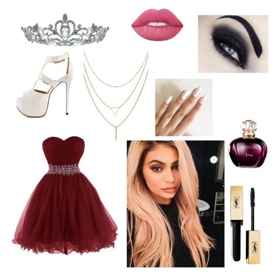 """Princess Princess"" by laila-solomon on Polyvore featuring Luichiny, Kate Marie, Justin Bieber and Lime Crime"