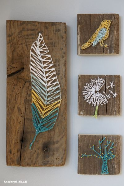 Home Made Modern: 10 Sensational String Art Projects: