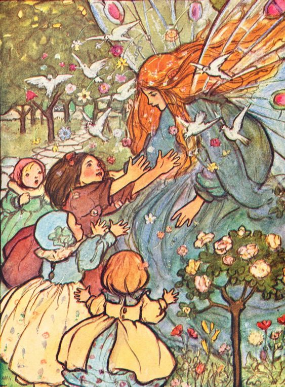 In the Fairy Ring, frontispiece by HARRISON, Florence Susan - Jonkers Rare Books