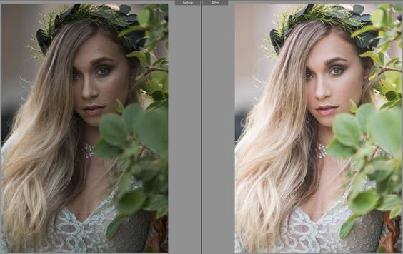 4 Steps to Picture Perfect Skin in Lightroom. Pretty Presets for Lightroom.