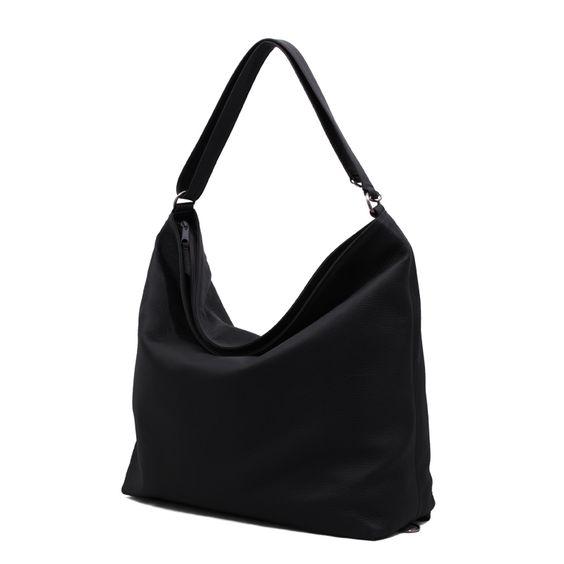 Softbag L Black Leather Bag | Anke Runge Berlin
