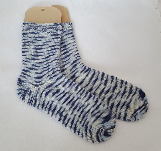 Womens Wool Socks   Hand Knitted  Sock by PreciousNewbornKnits