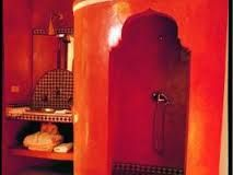 Arabian shower in fab orange.