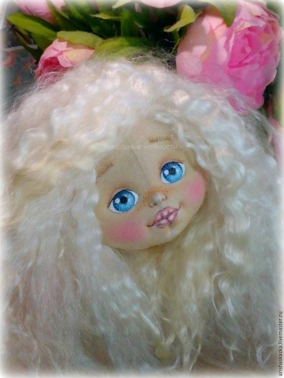 Основные этапы изготовления кукольной головки - Ярмарка Мастеров - ручная работа, handmade: