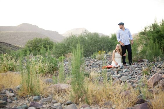 On Today's Arizona Weddings Blog: Enamored & Engaged {Maren & Josh} Submitted by Photography by Verdi