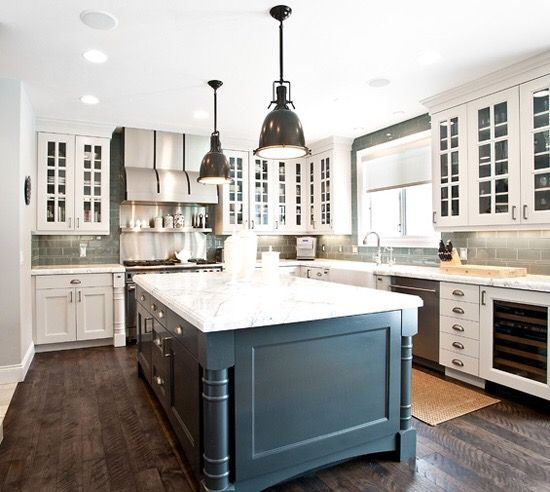 Silver Fox Paint Kitchen: Benjamin Moore, Cabinets And Islands On Pinterest