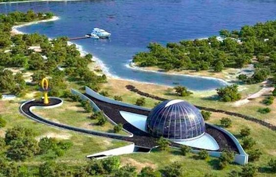 Exhibition Shell Vacations : Eye of horus eco house summer mansion built for supermodel