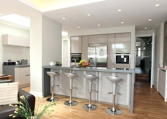 Kitchen Island With Pillars Ideas Kitchen Columns Open Plan Kitchen Diner Open Concept Kitchen Living Room