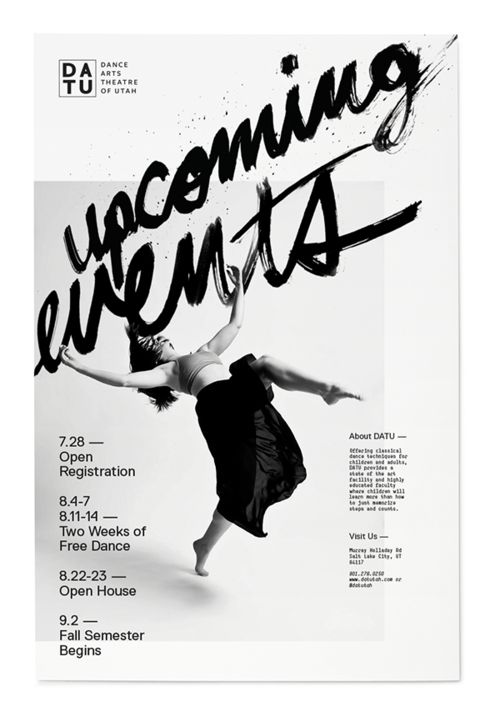 visualgraphc:  Sam Wood: Dance Poster