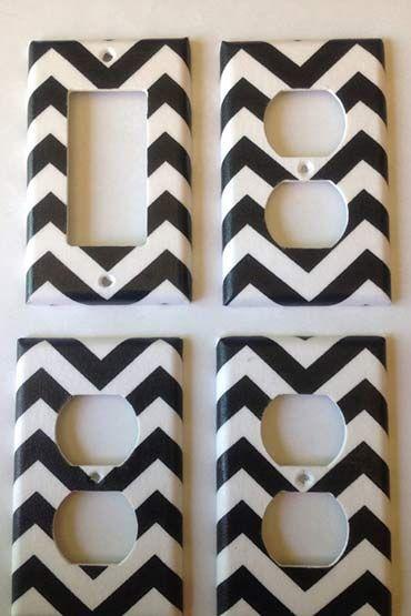 Sabia que dá para usar fita isolante na decoração de forma bem criativa? Confira ideias bem bacanas e inspire-se.: