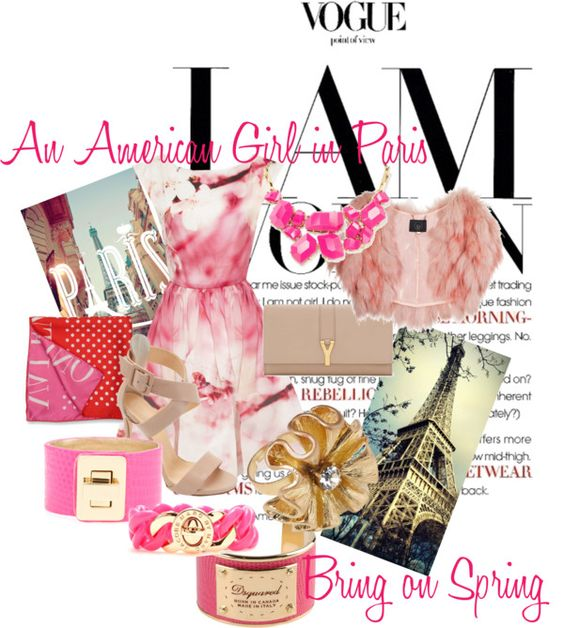 """""""An American Girl in Paris"""" by jane-thurmond on Polyvore"""