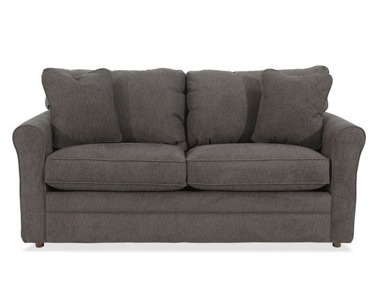 Casual 73 5 Full Sleeper Sofa In Gray Mathis Brothers Furniture Full Sleeper Sofa Sofa Sleeper Sofa