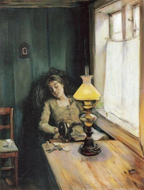 Christian Krohg (1852 – 1925) Norwegian Painter
